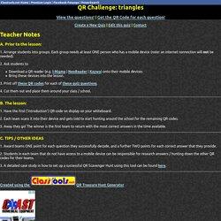 QR Code Treasure Hunt Generator