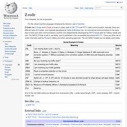 Z code