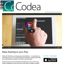 Codea – iPad