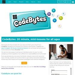 CS mini-lessons