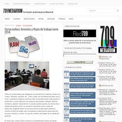 Curso codecs, formatos y flujos de trabajo Junio 2014 - 709 Media Room