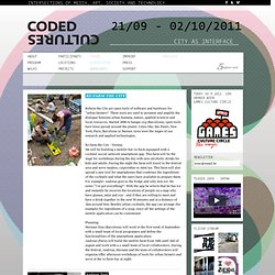 Coded Cultures 2011