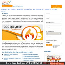 CodeIgniter Custom Application Development - 360 Digital Paths