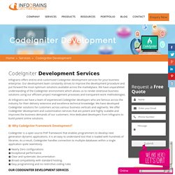 Are You Looking For Codeigniter Web Development Services Company In USA ?