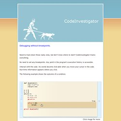 codeinvestigator