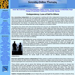 Codependency: Loss of Self In Others