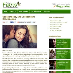 Codependency and Codependent Relationships