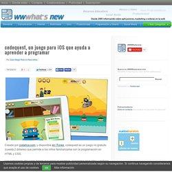 codequest, un juego para iOS que ayuda a aprender a programar