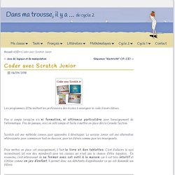 Coder avec Scratch Junior
