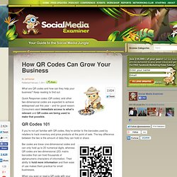 How QR Codes Can Grow Your Biz