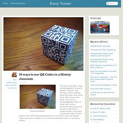 10 ways to use QR Codes in a History classroom