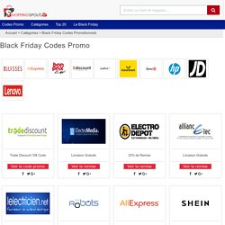 Black Friday Codes Promo & Réductions