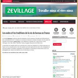 Les codes et les traditions de la vie de bureau en France
