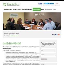 Codéveloppement - Chantal Binet, coaching, formation, conférence, Gatineau, Outaouais
