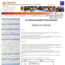 Codéveloppement Professionnel et Managérial
