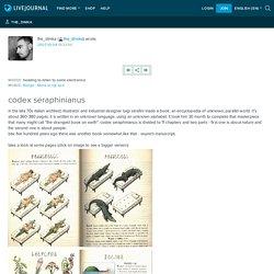 the_dimka: codex seraphinianus