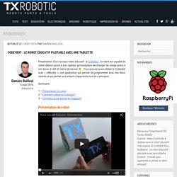 Codeybot : Le robot éducatif pilotable avec une tablette