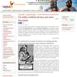 Un códice ocultista de hace 500 años Desvelado
