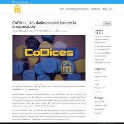 CoDices - Los dados para iniciarte en la programación - La Escuela Maker