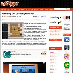 Codify Brings Entry-Level Coding to iPad Users