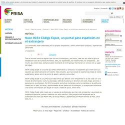 Nace 0034 Código Expat, un portal para españoles en el extranjero