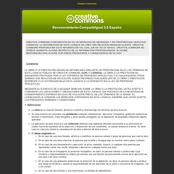 Código legal de Creative Commons