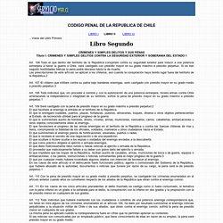 Código Penal de Chile