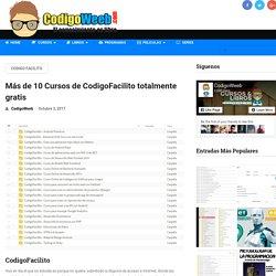 Más de 10 Cursos de CodigoFacilito totalmente gratis - CodigoWeeb