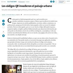 Los códigos QR invadieron el paisaje urbano - 23.11.2011 - LA NACION