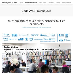 Coding and Bricks » Code Week Dunkerque