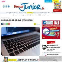 Coding: cos'è - FocusJunior.it