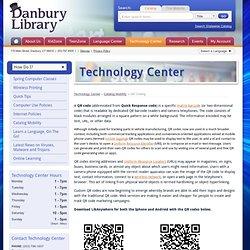QR Coding - Danbury Public Library