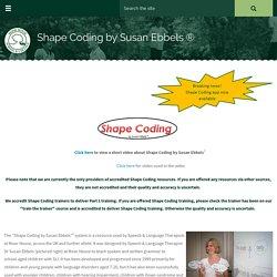 Shape Coding by Susan Ebbels ®