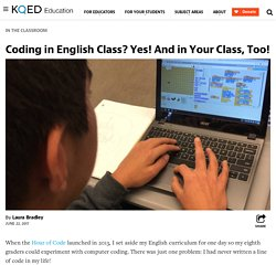Coding in English Class? Yes! And in Your Class, Too!