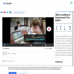 Why Coding Is Important For Kids?