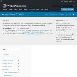 PHP Coding Standards – Make WordPress Core