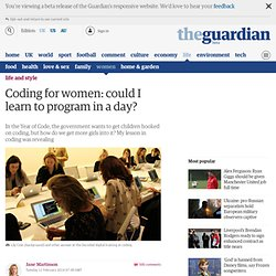 Coding for women: could I learn to program in a day?