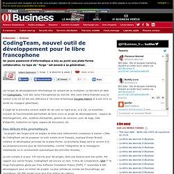 CodingTeam, nouvelle forge francophone