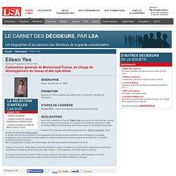 Eileen Yeo : Tout savoir sur Eileen Yeo, Codirectrice générale de Marionnaud France, en charge du développement du réseau et des opérations