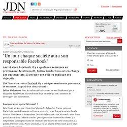 """""""Un jour chaque société aura son responsable Facebook"""""""