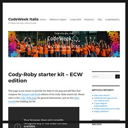 Cody-Roby starter kit – ECW edition