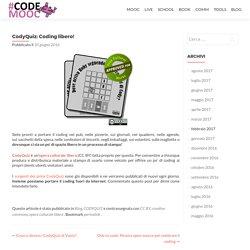 CodyQuiz: Coding libero! – CodeMOOC