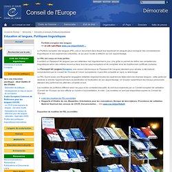 Porte folio des langues www.coe.int/t/dg4/linguistic/portfolio_fr.asp