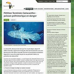 Cœlacanthe : poisson préhistorique en danger