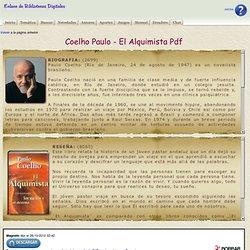 Coelho Paulo - El Alquimista Pdf
