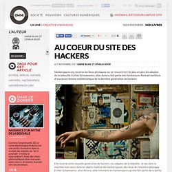 Au coeur du site des hackers