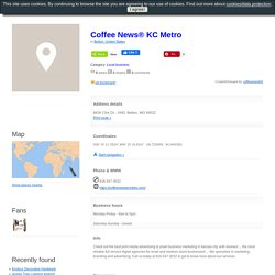 Coffee News® KC Metro, Belton, United States