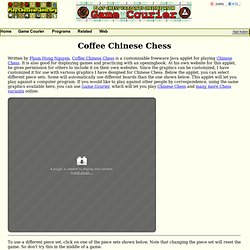 Coffee Chinese Chess
