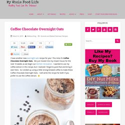 Coffee Chocolate Overnight Oats