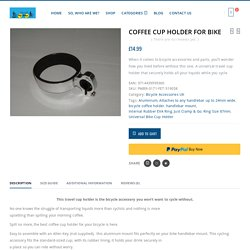 Coffee Cup Holder for Bike